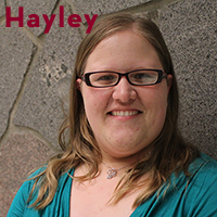 Past Author Hayley