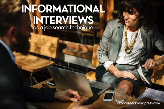 Informational interviews as a job search technique