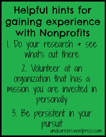 Nonprofit hints