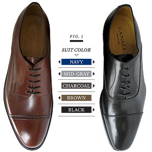 Shoe to Suit guide