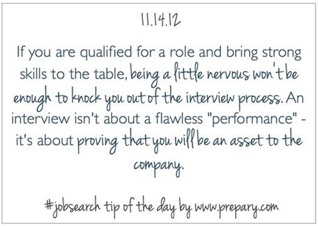 Prepary job search tip