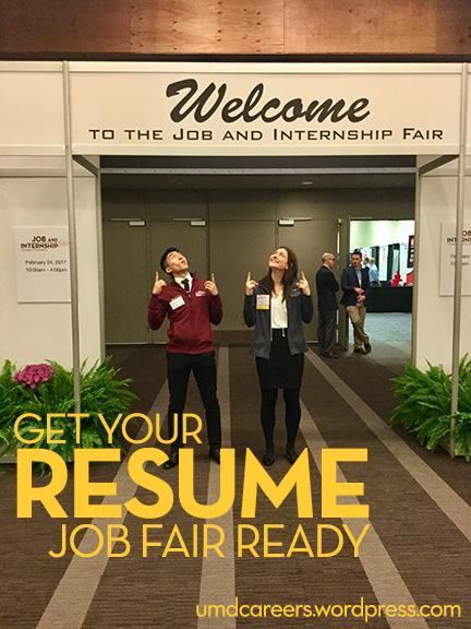 Resume Job Fair Ready  Resume For Career Fair