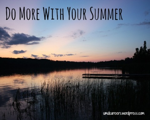 Do more with your summer