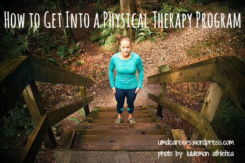 how to get into a physical therapy program peer into your career get into pt program