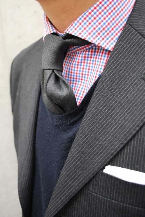 Dress for men peer into your career for Sweater and dress shirt combo