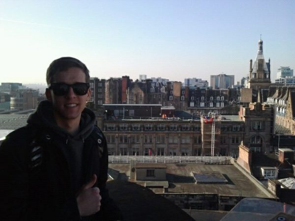 Zach & City backdrop