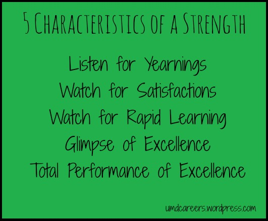 5 Characteristics of a strength