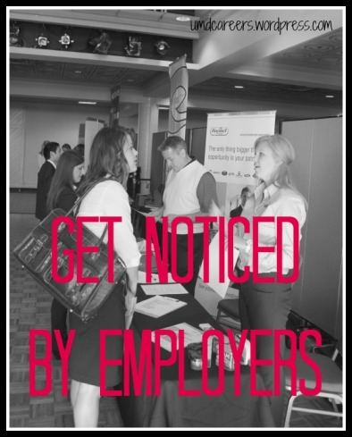 Get noticed by employers