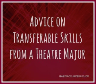 Transferable skills from Theatre