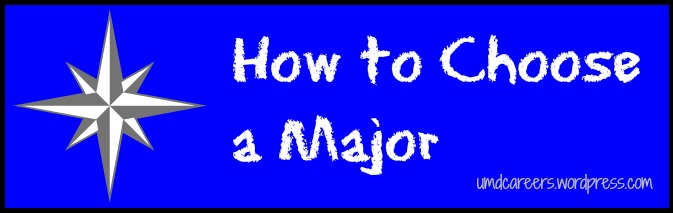 How to choose a major