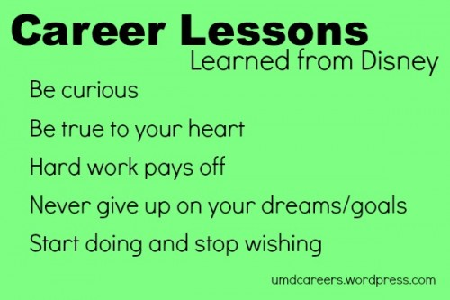 Disney Career Lessons