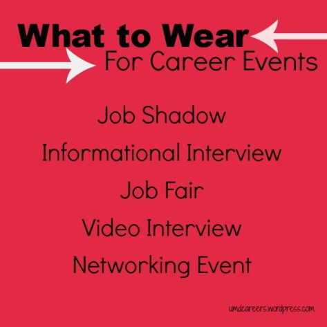 What to Wear Career Events
