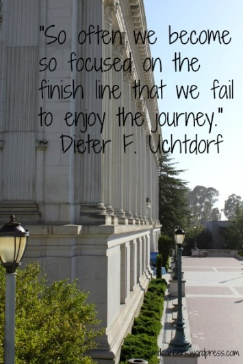 Berkeley Library with quote