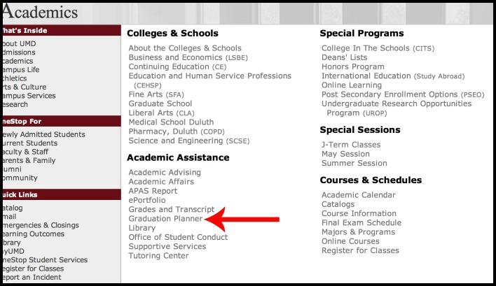 Find Grad Planner
