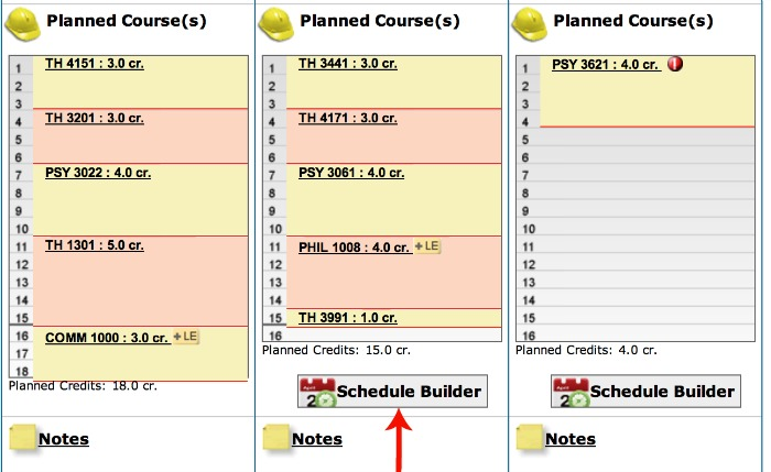 schedule builder umn