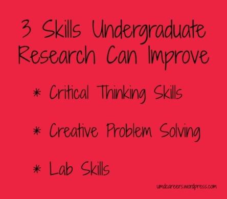 3 Skills Research
