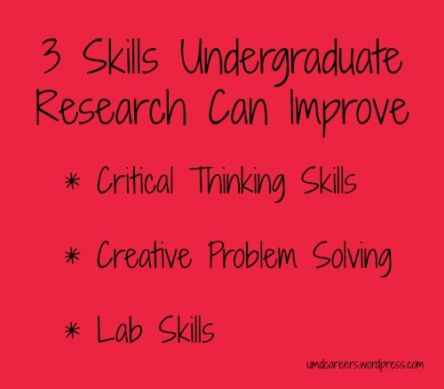 3 Skills Research