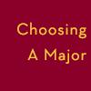 Choosing a major