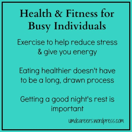 Health for Busy Individuals