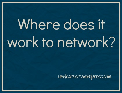 where to network