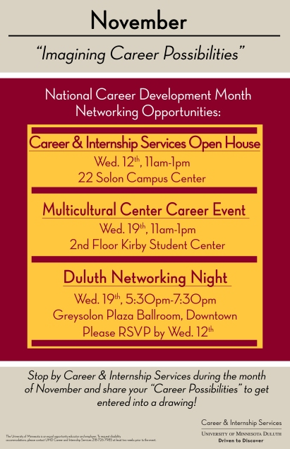 National Career Dev Month 2014