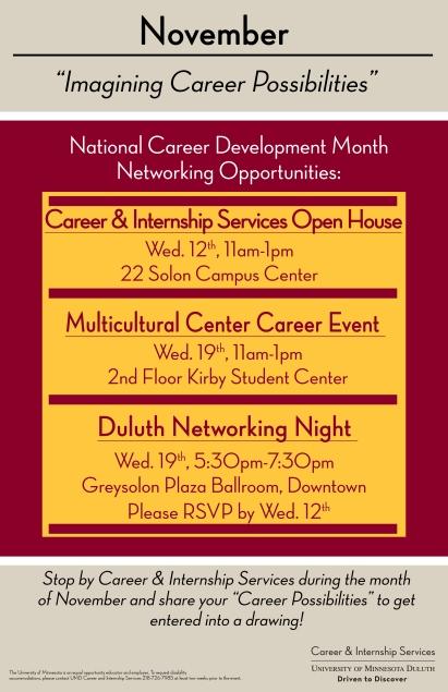 National Career Dev Month 2014