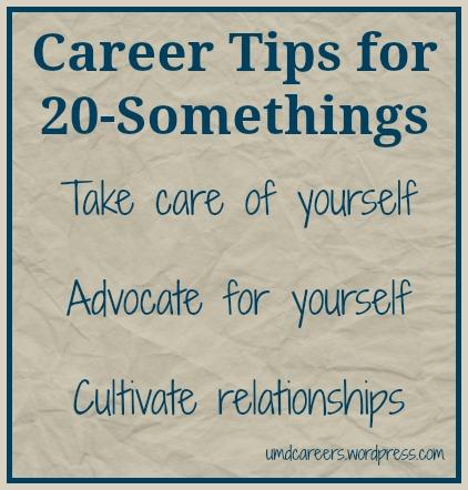 Tips for 20-somethings