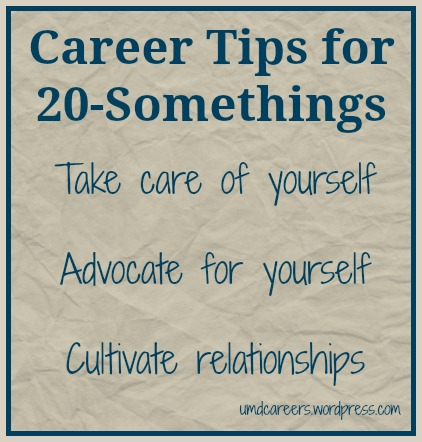 Tips for 20-somethings