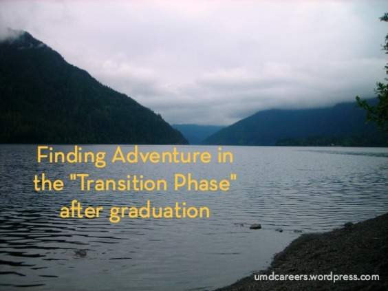 Adventure in transition