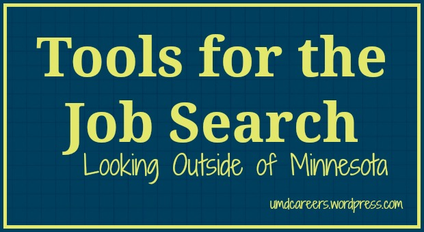 Job Search outside MN