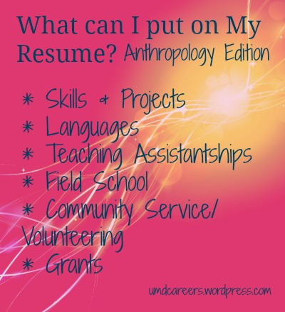 Anth Resume