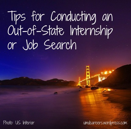 Out-of-State Job Search