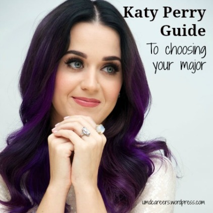 Katy Perry Choosing Major