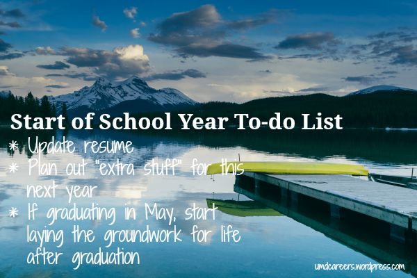 Start To-do list
