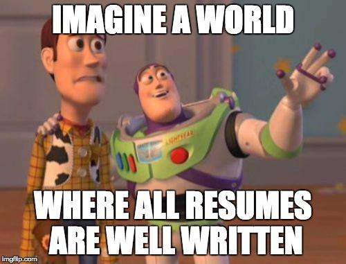 Resume Meme