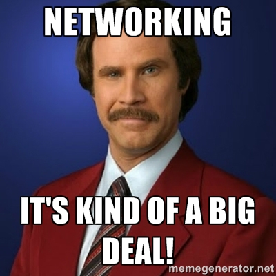 Networking Meme