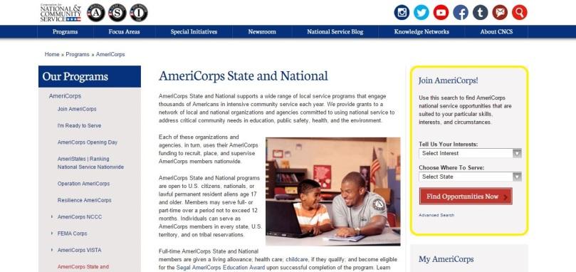 AmeriCorps SN