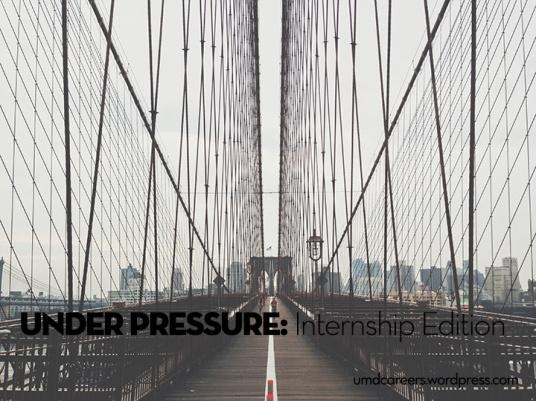 Under Pressure Internship