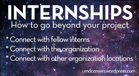 Intern beyond project