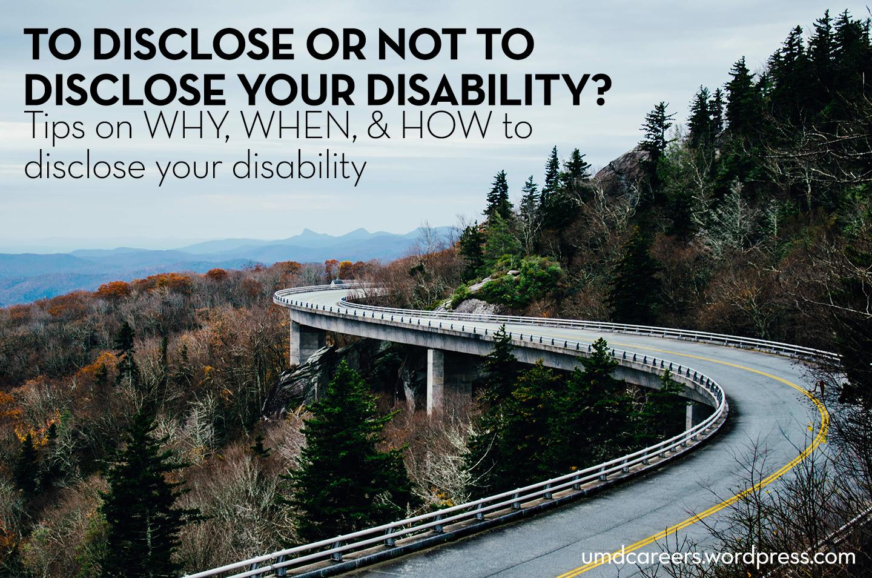 disclose-disability