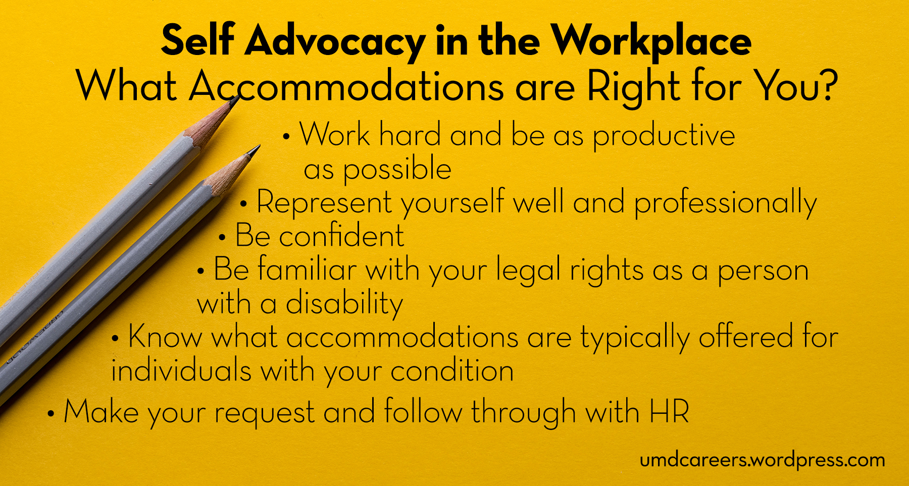 Self Advocacy in the Workplace – Peer Into Your Career