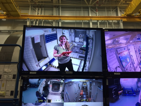 Kirsi doing Astronaut user testing at NASA co-op