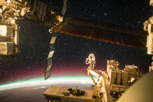 Aurora_ Stars_From_Space_Station_Window