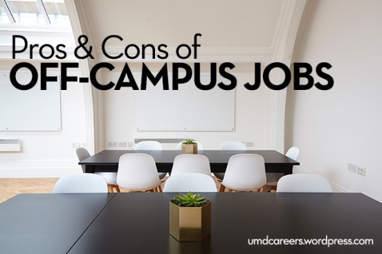 Off-campus jobs