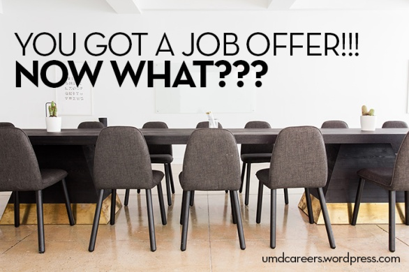You got a job offer! Now what?