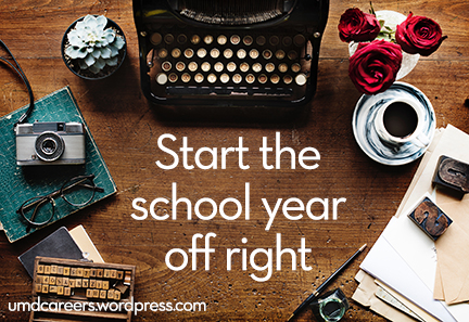 Start the school year off right