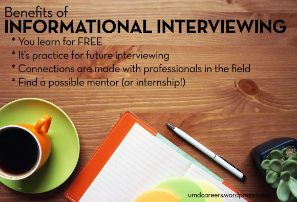 Benefits of informational interviewing