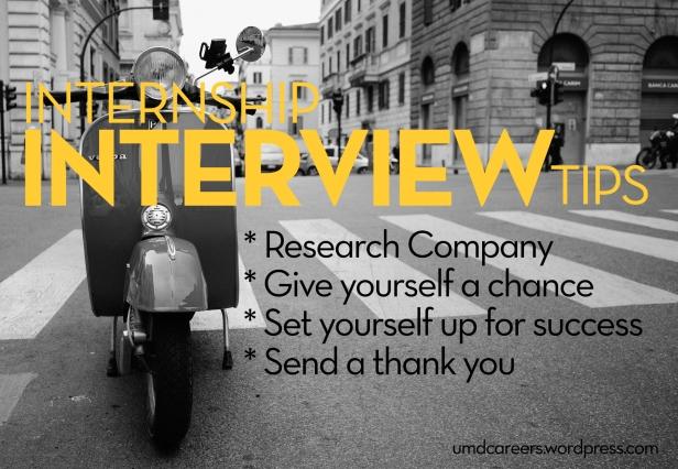 Internship Interview Tips