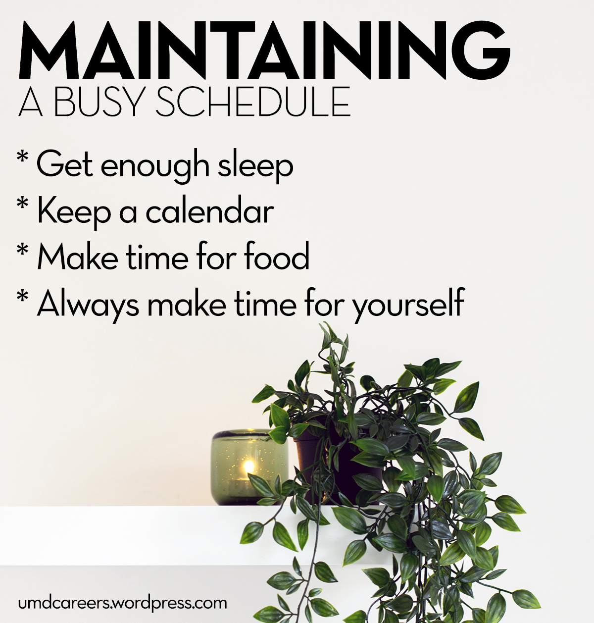 Tips for Maintaining a Busy Schedule