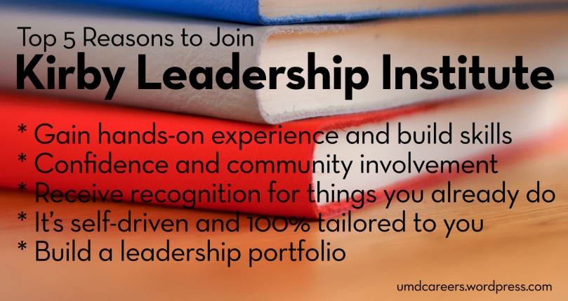 Top 5 reasons to join Kirby Leadership Institute